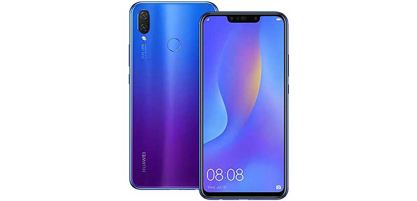 20. Huawei Nova 3i