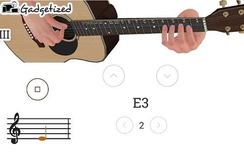 3D Cara Bermain Gitar