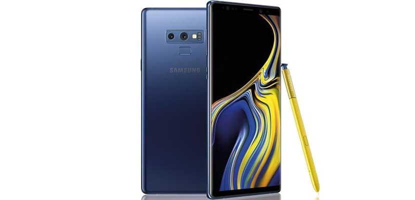 5. Samsung Galaxy Note 9
