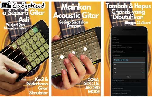 Aplikasi Gitar Nyata