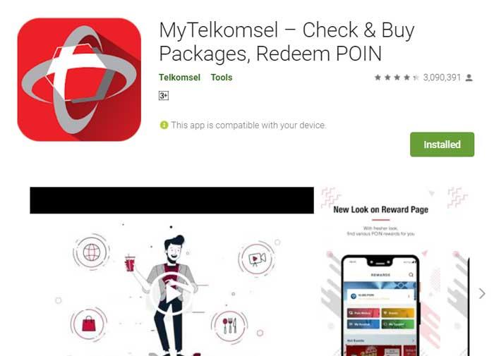 Aplikasi M Telkomsel