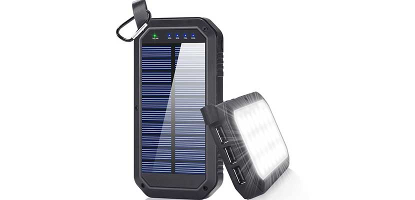 BESWILL 8000mAh Solar Charger