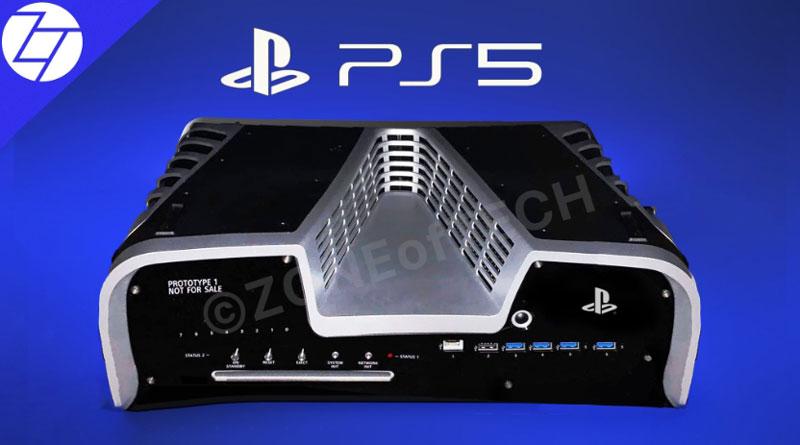 Bentuk dan Foto Asli Playstation 5