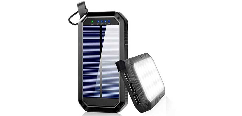 Dostyle 8000mAh Portable Solar Power Bank