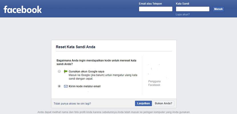 Lupa Kata Sandi Facebook Begini Cara Mengatasinya