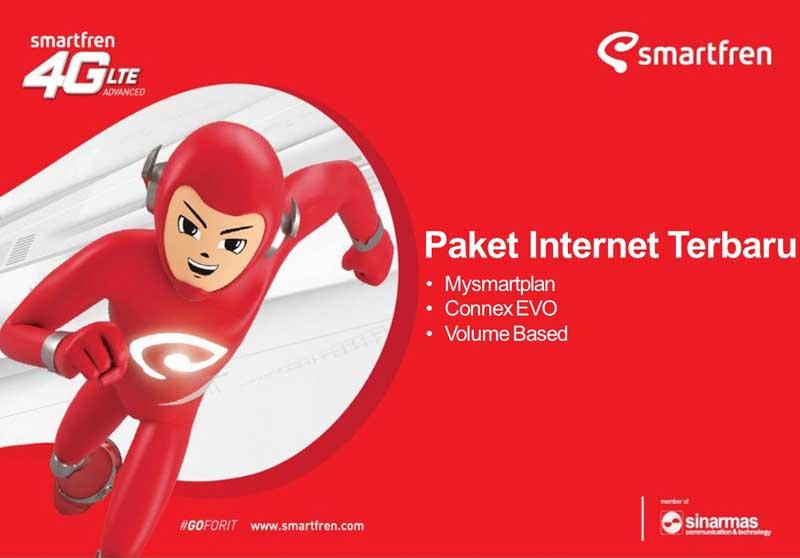 Paket Smartfren Mifi Unlimited 4G Beserta Paket Super 4G