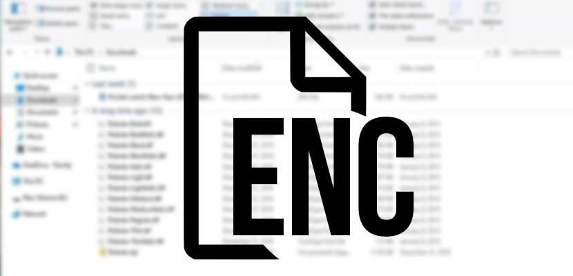 Cara Membuka File Enc Di Laptop