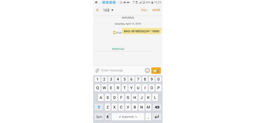Cara Transfer Pulsa Lewat SMS ke Operator Lain