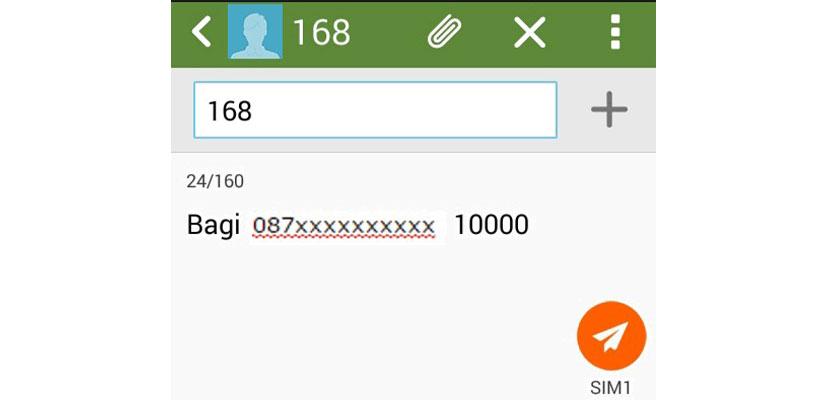 Cara Transfer Pulsa Lewat SMS ke Sesama Nomor XL