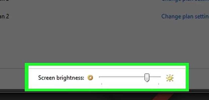 Menggunakan Slider Windows 7