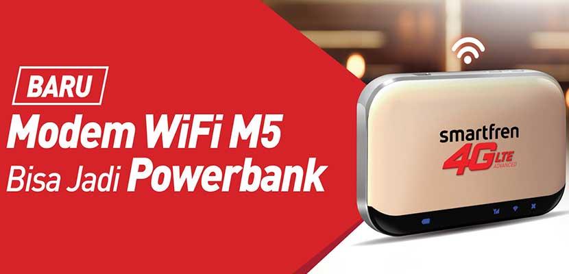 Mifi Smartfren 4G M5