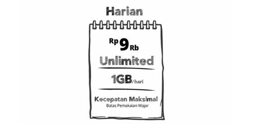 Paket Unlimited Harian