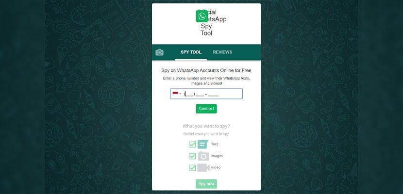 Sadap WA Tanpa Barcode Lewat Website