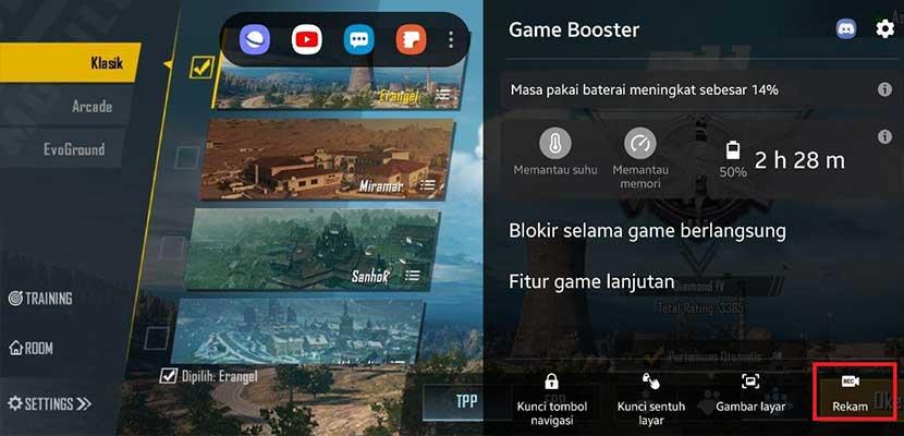Cara Merekam Game di HP Samsung A Series