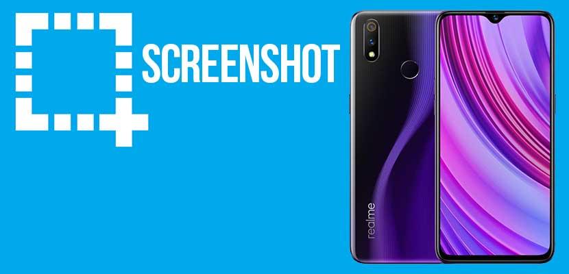 Cara Screenshot Realme 3 Pro