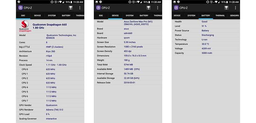 Dengan Aplikasi CPU Z