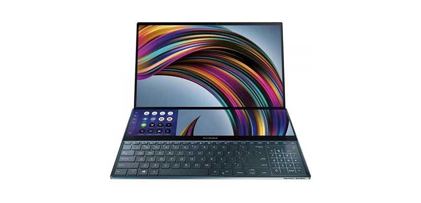 Desain ZenBook Pro Duo