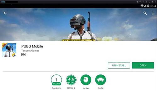 Instal PUBG Mobile NOX Player