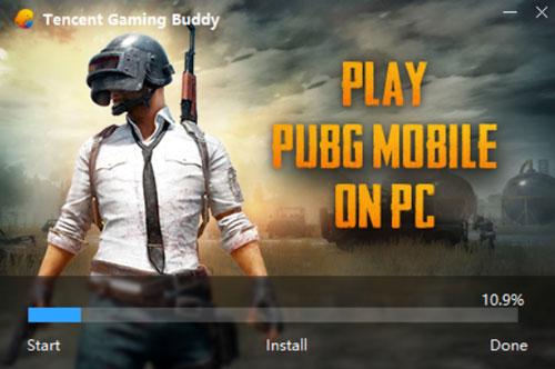 Instal PUBG Mobile