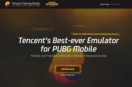 PUBG Mobile di Tencent Buddy Gaming