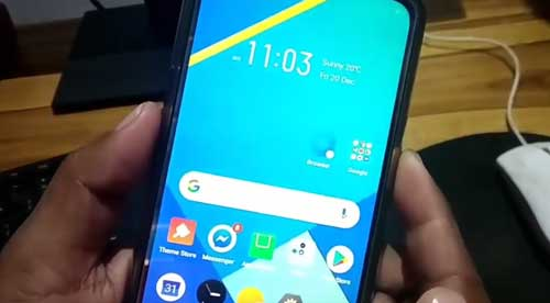 Screenshot Realme X50 5G Tombol Kombinasi