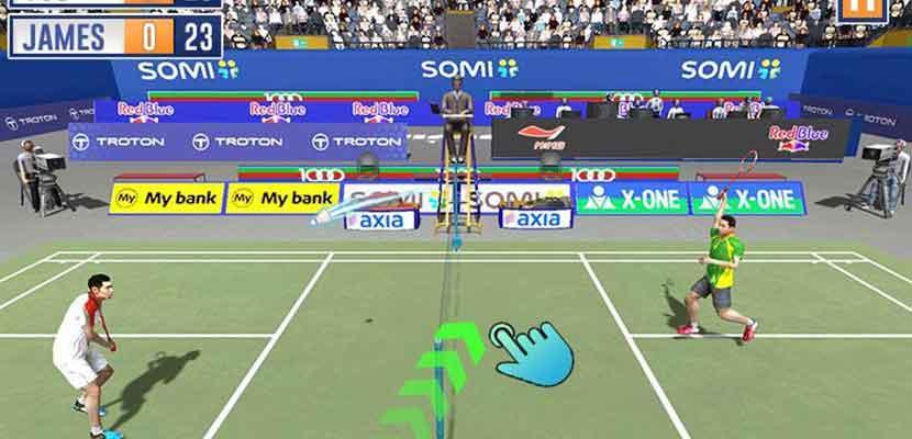 12 Badminton International Game