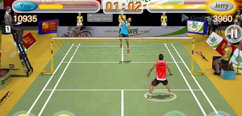 15 Badminton King 3D
