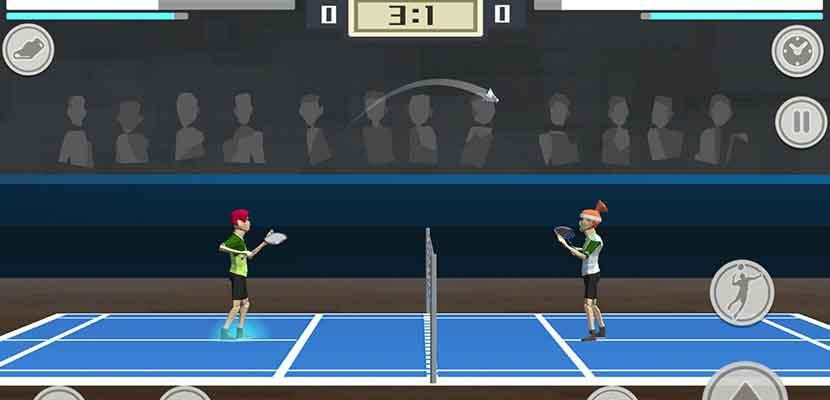 18. Badminton Mania