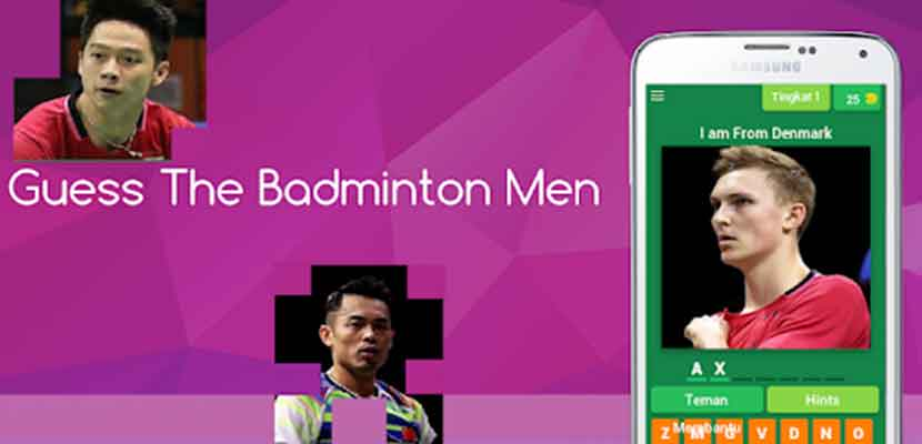 21 Guess The Badminton Men Player