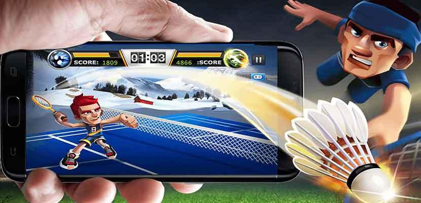 23. Badminton 3D Game