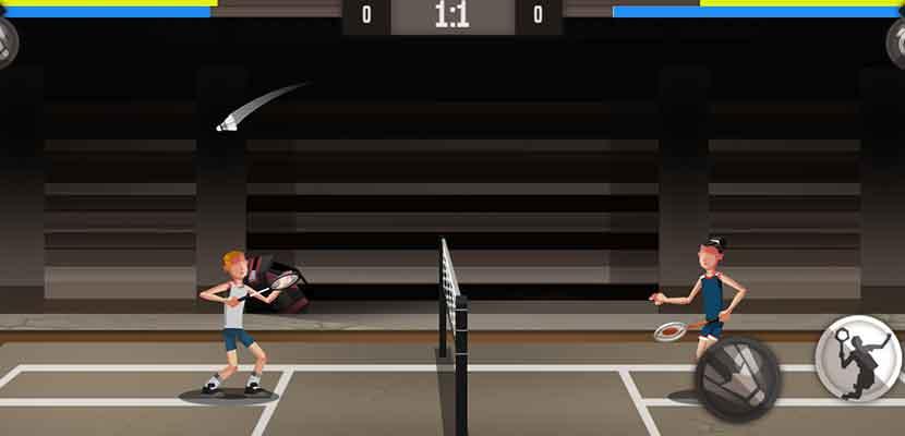 25. Badminton Advancer