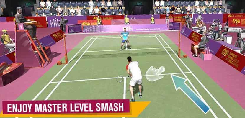 27. Badminton Battle