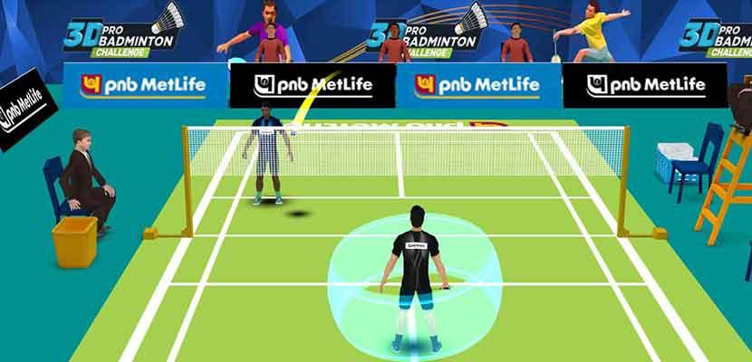 3. 3D Pro Badminton Challenge