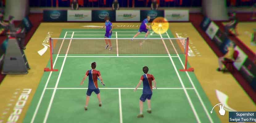 4. Li Ning Jump Smash 15 Badminton