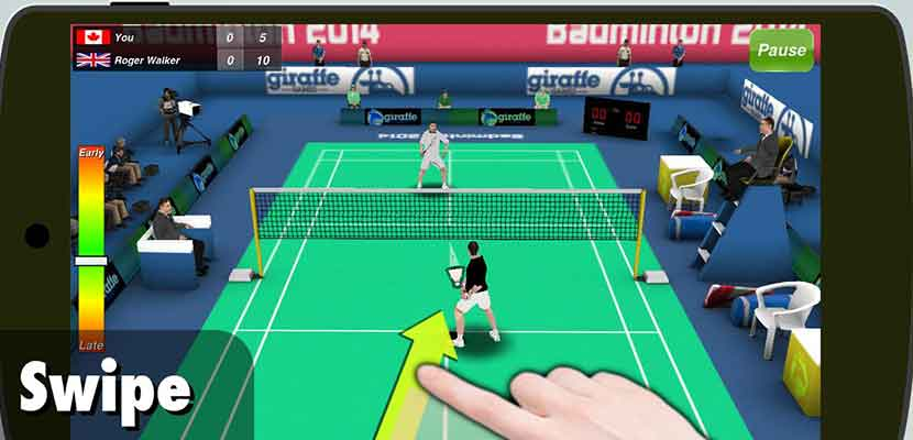 5. Badminton 3D