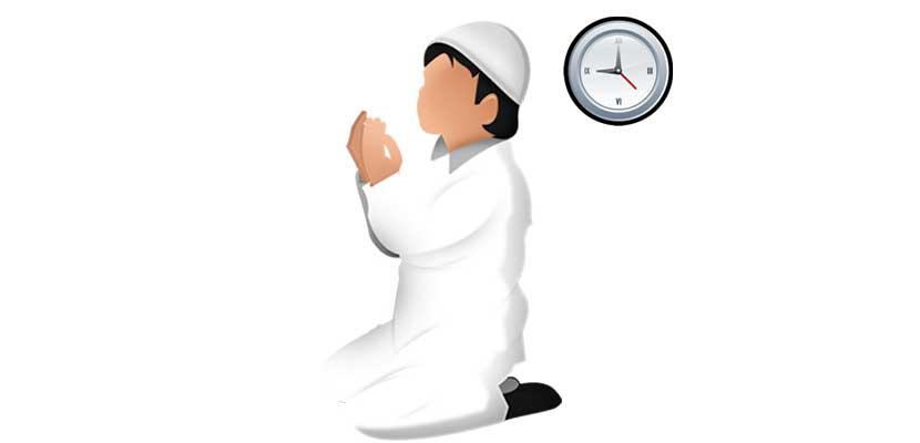 8.Waktu Adzan Kiblat