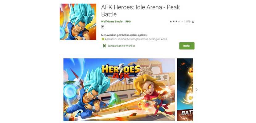 AFK Heroes: Idle Arena - Peak Battle