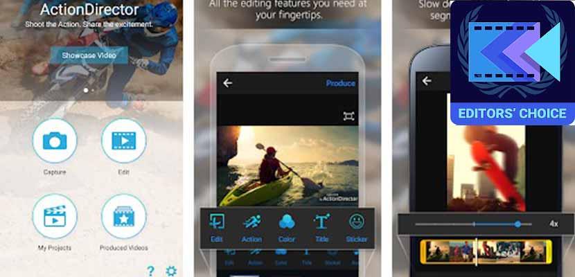 aplikasi edit video ActionDirector