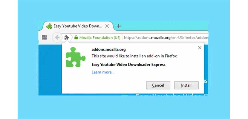 Add ons Easy Youtube Downloader Express