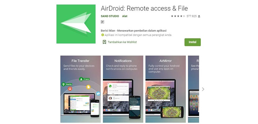 Air Droid: Remote Access File