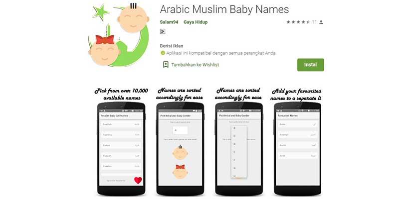 Arabic Muslim Baby Names