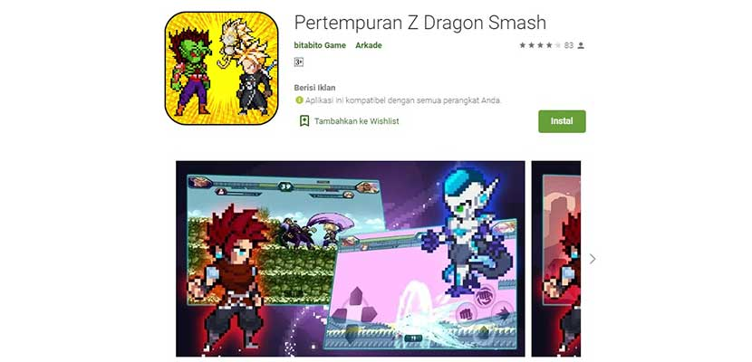 Battle of Z Dragon Smash