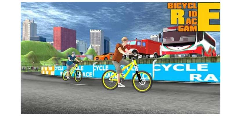 Bicycle Rider Race Game