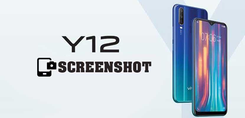 Cara Screenshot Vivo Y12