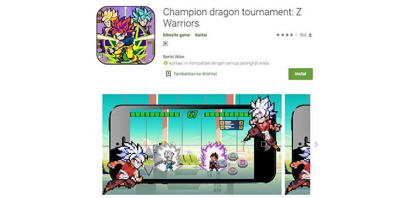 Champion Dragon Tournament: Z Warriors