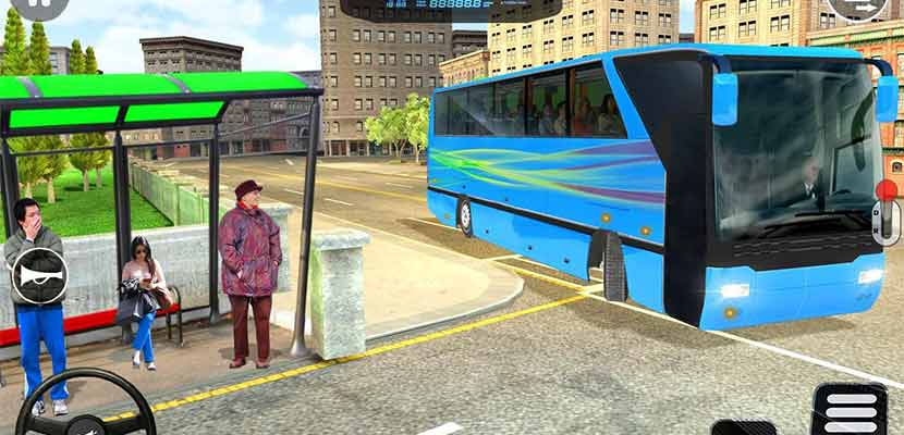 City Bus Driver Game 3D : Tourist Bus Games 2019
