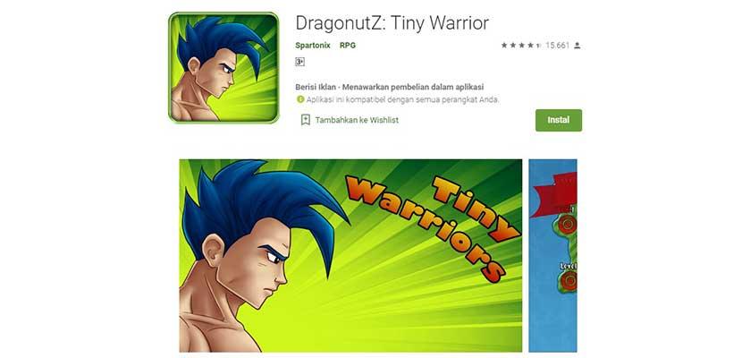 DragonutZ: Tiny Warrior