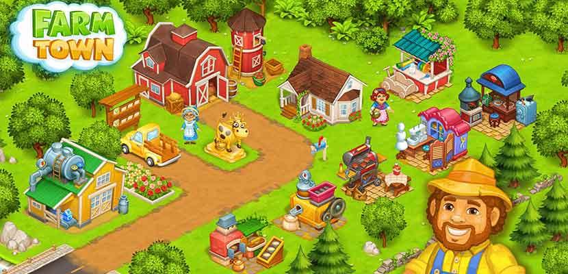 Farm Town Happy Farming Day