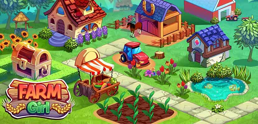 Farmer Girl Animal Care and Farm Games