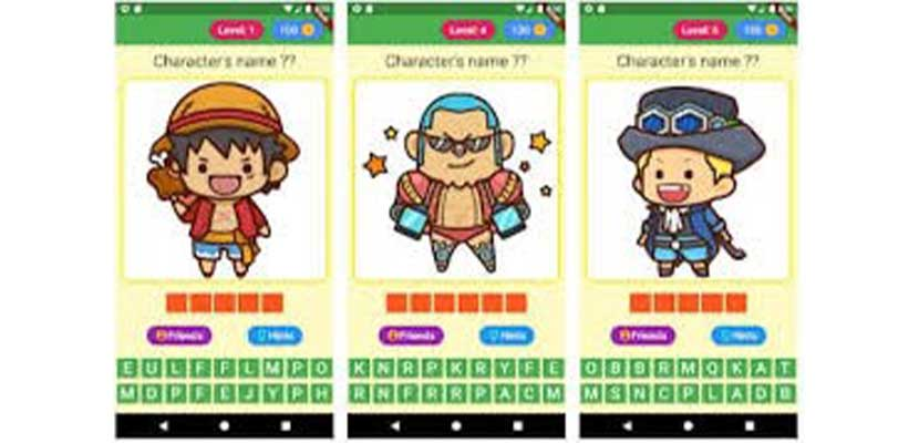 Guess One Piece Character Chibi: Trivia Game